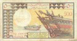 500 Francs DJIBOUTI  1979 P.36a TB