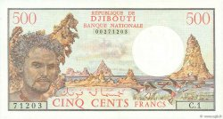 500 Francs DJIBOUTI  1979 P.36a SUP