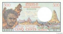 500 Francs DJIBOUTI  1979 P.36a pr.NEUF
