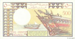 500 Francs DJIBOUTI  1988 P.36b pr.NEUF