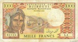 1000 Francs DJIBOUTI  1979 P.37a TB