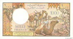 1000 Francs DJIBOUTI  1979 P.37b SPL