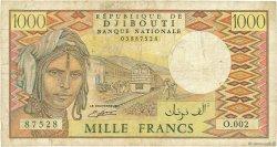 1000 Francs DJIBOUTI  1991 P.37c B
