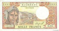 1000 Francs DJIBOUTI  1991 P.37d TTB