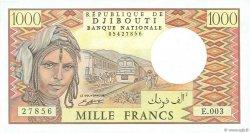 1000 Francs DJIBOUTI  1991 P.37d SPL