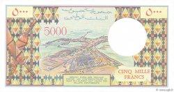5000 Francs DJIBOUTI  1991 P.38d NEUF