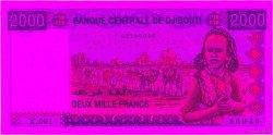 2000 Francs DJIBOUTI  2005 P.43 SPL