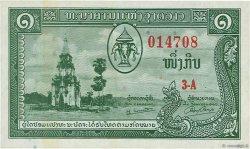1 Kip LAOS  1957 P.01a SUP+