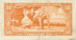50 Kip LAOS  1957 P.05b pr.TTB