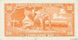 50 Kip LAOS  1957 P.05b SUP