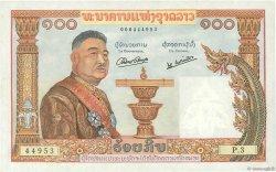 100 Kip LAOS  1957 P.06a SUP