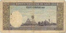 500 Kip LAOS  1957 P.07a B