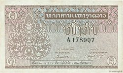 1 Kip LAOS  1962 P.08a TTB