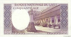 50 Kip LAOS  1963 P.12a SUP
