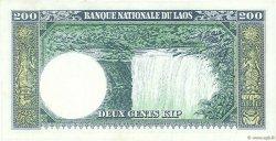 200 Kip LAOS  1963 P.13a SUP