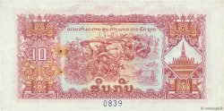 10 Kip LAOS  1975 P.20bs SUP