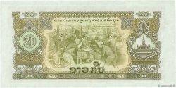 20 Kip LAOS  1975 P.21b SPL+