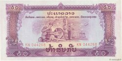 50 Kip LAOS  1975 P.22b SUP+