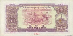 50 Kip LAOS  1975 P.22bs SUP+
