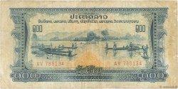100 Kip LAOS  1975 P.23a TB