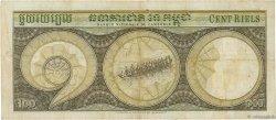 100 Riels CAMBODGE  1956 P.08a TTB