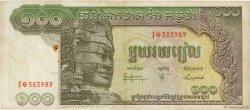 100 Riels CAMBODGE  1968 P.08b TB+