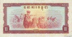 10 Riels CAMBODGE  1975 P.22a TTB