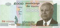 5000 Riels CAMBODGE  2002 P.55b NEUF
