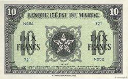 10 Francs MAROC  1943 P.25 pr.NEUF