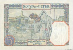 5 Francs type 1924 ALGÉRIE  1939 P.077a SUP+