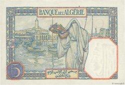 5 Francs ALGÉRIE  1940 P.077a SPL