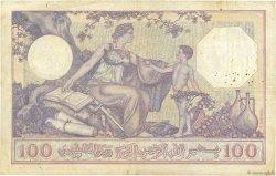 100 Francs type 1920 ALGÉRIE  1932 P.081b TB