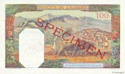 100 Francs type 1938 filigrane lettres ALGÉRIE  1941 P.088s NEUF
