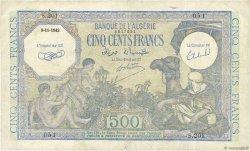 500 Francs type 1943 vert ALGÉRIE  1943 P.093 TTB