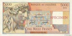 5000 Francs ALGÉRIE  1946 P.105s SPL