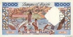 10000 Francs type 1952 mouettes ALGÉRIE  1955 P.110s SUP+