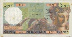 5 Nouveaux Francs ALGÉRIE  1959 P.118a TTB