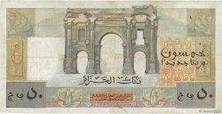 50 Nouveaux Francs type 1946 modifié 1959 ALGÉRIE  1959 P.120a TTB