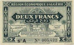 2 Francs 1er tirage ALGÉRIE  1944 P.099a pr.NEUF