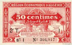 50 Centimes 2e tirage ALGÉRIE  1944 P.100 pr.NEUF