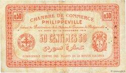 50 Centimes ALGÉRIE Philippeville 1914 JP.142.05 TTB