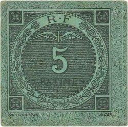5 Centimes Bougie-Sétif ALGÉRIE  1916 JP.139.09 SUP
