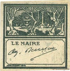 10 Centimes Cherchell ALGÉRIE  1916 JPCV.03 SPL