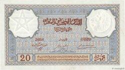 20 Francs 1920 modifié 1941 MAROC  1942 P.18b SUP