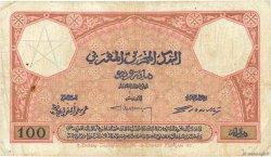 100 Francs MAROC  1925 P.14 pr.TB