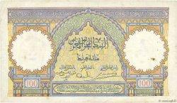 100 Francs MAROC  1938 P.20 TTB