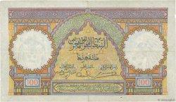 100 Francs type 1928 MAROC  1941 P.20 TTB