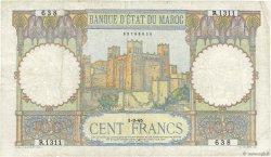 100 Francs type 1928 MAROC  1945 P.20 TTB