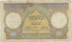 100 Francs type 1928 MAROC  1946 P.20 TB