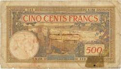 500 Francs type 1923 modifié 1946 MAROC  1946 P.15b B